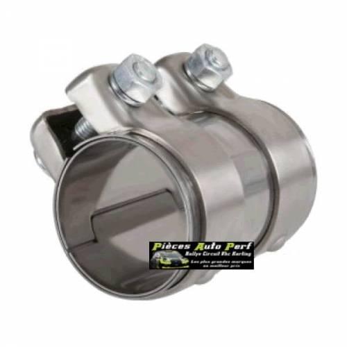 Manchon Inox Femelle/Femelle pour Tube d'échappement Diamètre 65mm