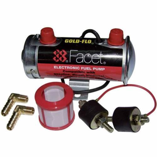 kit complet Pompe à essence Transistorisée Basse pression FACET Silver Top 132l/heure