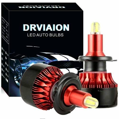 2 Ampoules H7 à leds 360° Haute Qualité 30000Lm/6500k