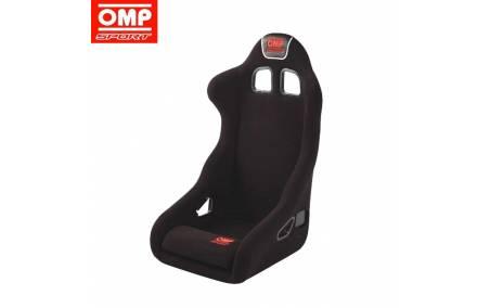 Siège baquet homologué FIA OMP SPORT Rac noir