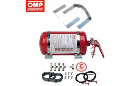 Kit complet extincteur Berline FIA Automatique Acier OMP Sport 4.25l