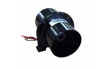 Ventilateur extracteur aluminium 12v 76mm REVOTEC face