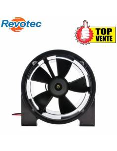 Ventilateur extracteur aluminium 12v 76mm REVOTEC