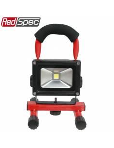 Projecteur à LED 10w Rechargeable 12v/220v face