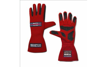 Gants VHC FIA SPARCO Land Classic MARTINI RACING rouge