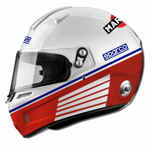 Casque intégral FIA SPARCO AIR RF-5W MARTINI Racing
