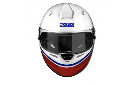 Casque intégral FIA SPARCO AIR RF-5W MARTINI Racing de face
