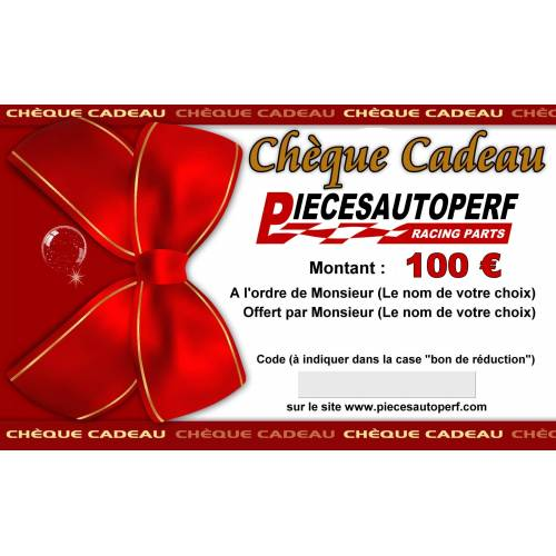 Chèque cadeau Pièces Auto Perf de 1000€