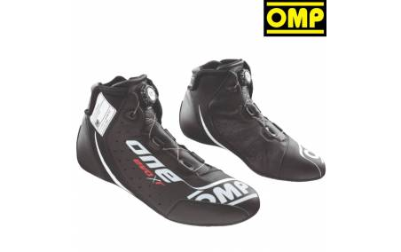 Bottines FIA Cuir OMP One Evo X R noir