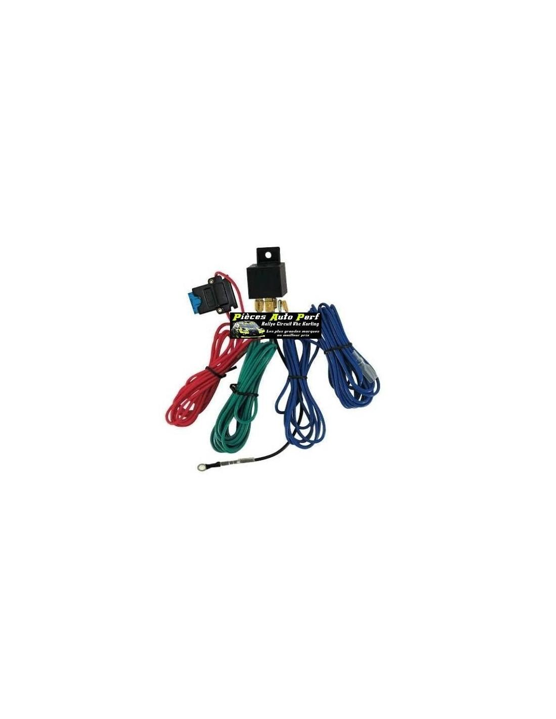 kit faisceau  u00e9lectrique pour montage de phares additionnels