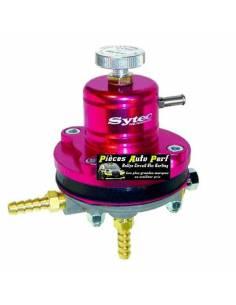 Régulateur de pression d'essence Réglable 1 à 5 Bars SYTEC Rouge