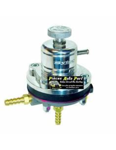 Régulateur de pression d'essence Réglable 2 à 6 Bars SYTEC Argent