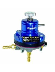 Régulateur de pression d'essence Réglable 2 à 6 Bars SYTEC Bleu