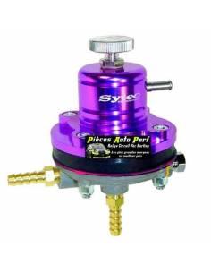 Régulateur de pression d'essence Réglable 2 à 6 Bars SYTEC Violet