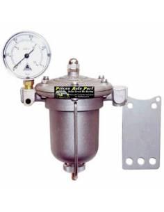 Régulateur de pression d'essence Réglable pour Moteur à Carburateur KING FK85 Raccord lisse