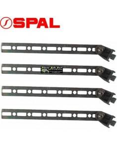 Kit 4 Languettes de fixations pour ventilateurs SPAL Tous diamètres