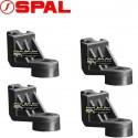 Kit 4 Equerres de fixations petit modèle pour ventilateurs SPAL Tous diamètres