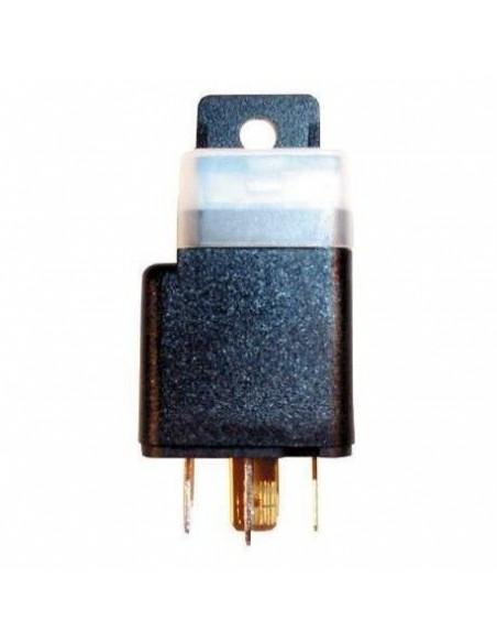 Relai 4 broches 12 volts 30 ampères Fusible intégré