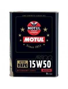 Huile moteur MOTUL Classic 15w50 Bidon 2 Litres