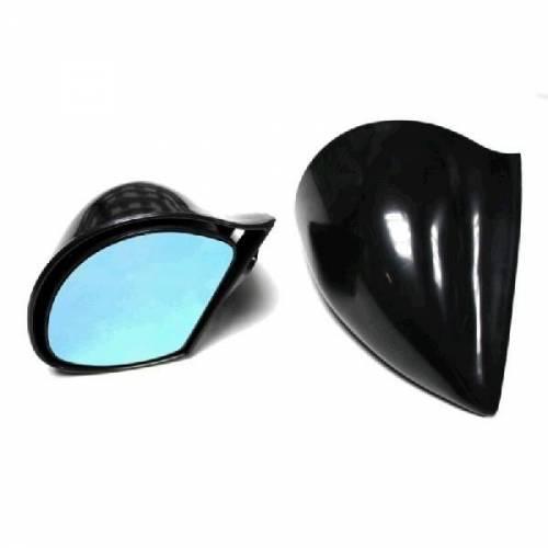 Paire de Rétroviseurs OBUS Noir réglage manuel