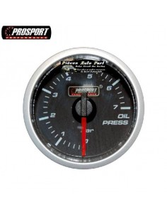 MANOMETRE PRESSION D'HUILE PROSPORT Diamètre 52mm 0/7 Bars