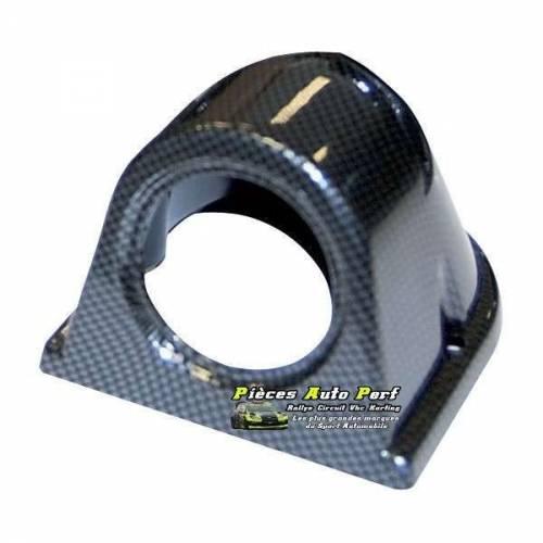 Support tableau de bord Look Carbone pour1 Mano diamètre 52mm