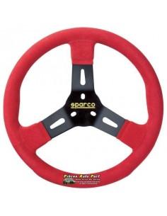 VolANT Karting SPARCO R310 Noir/Rouge Alcantara
