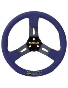 VolANT Karting SPARCO R310 Noir/Bleu Alcantara