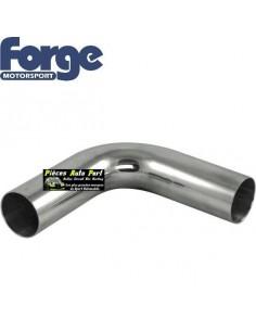 Coude aluminium 90 degrés Diamètre 57mm