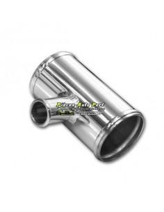 T de Jonction aluminium Sortie 25mm Entrée 63mm