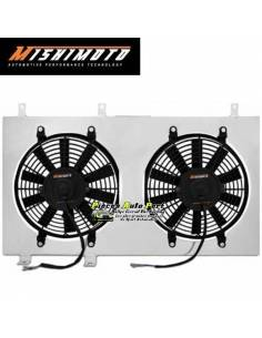 Kit Ventilateurs aluminium Gros débit extra-plat MISHIMOTO 3900m3/h MITSUBISHI Lancer Evo 10