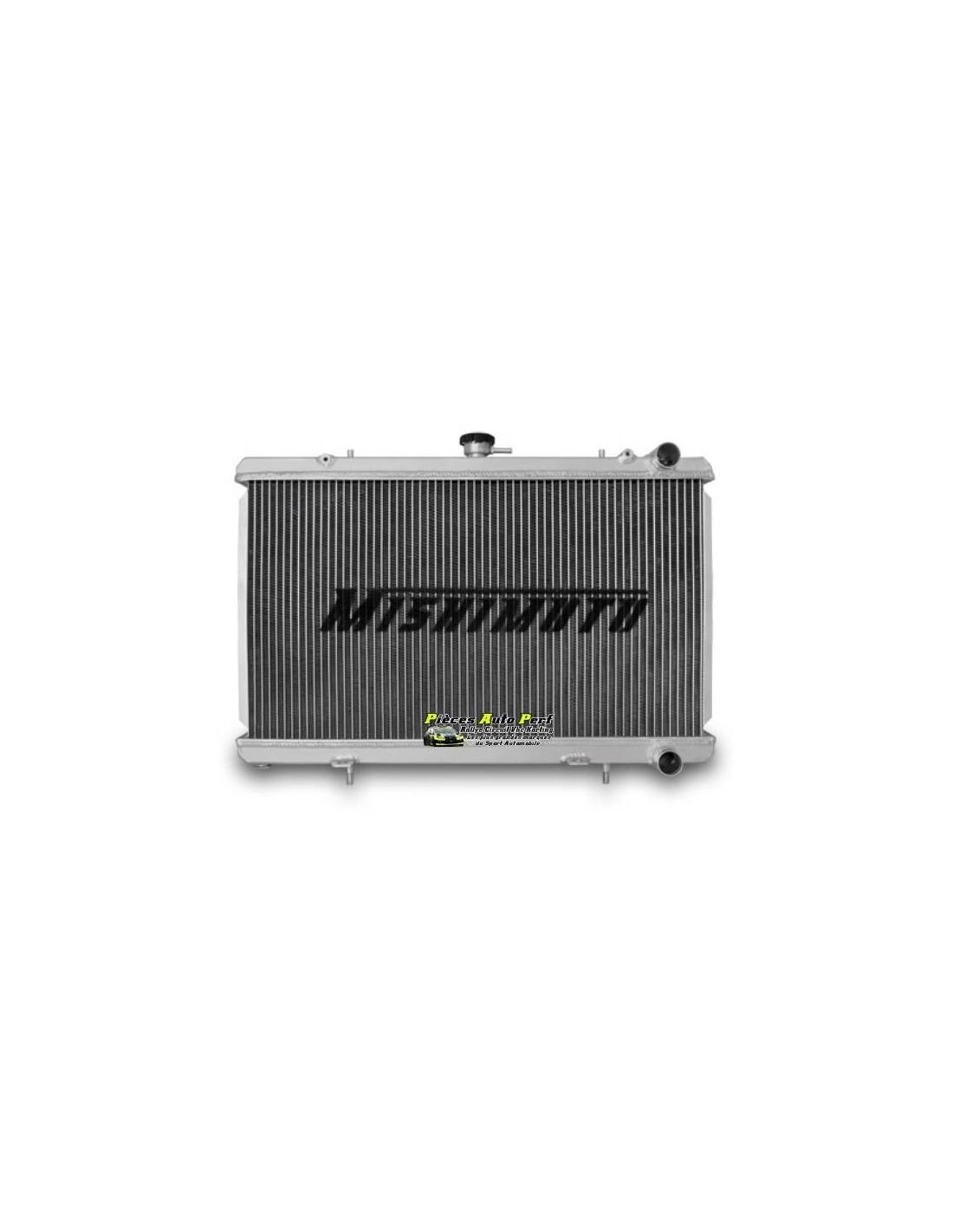 radiateur d 39 eau aluminium performance mishimoto pour nissan 240 sx s13. Black Bedroom Furniture Sets. Home Design Ideas