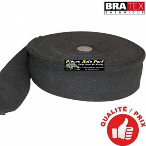 Ruban isolant Noir pour Collecteur/Echappement Largeur 5cm Longueur 4.5m