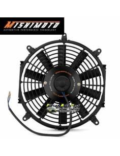 Ventilateur compétition Alu Noir Réversible MISHIMOTO Diamètre 305mm Débit 1950m3/heure
