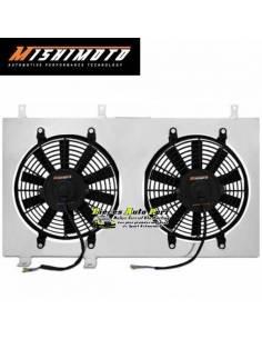 Kit Ventilateurs aluminium Gros débit extra-plat MISHIMOTO 3900m3/h HONDA Prelude 1997-2001