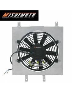Kit Ventilateur aluminium Gros débit extra-plat MISHIMOTO 1950m3/h HONDA Civic 1992-2000