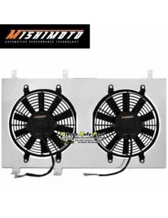 Kit Ventilateurs aluminium Gros débit extra-plat MISHIMOTO 3900m3/h HONDA Civic SI 2006-2011