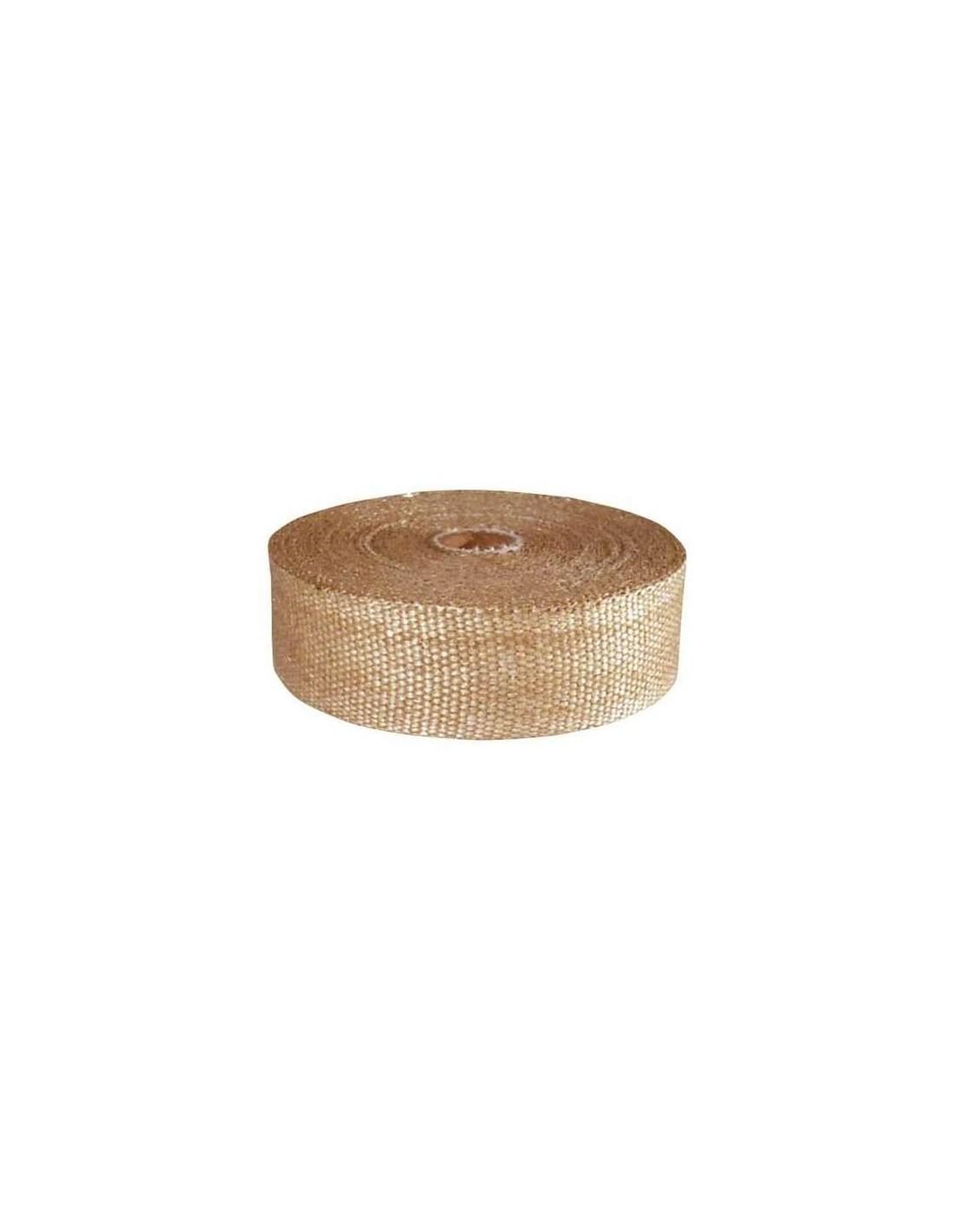 ruban isolant cuivr pour echappement collecteur rouleau de 15mx5cm. Black Bedroom Furniture Sets. Home Design Ideas