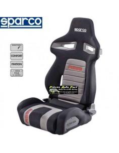 Siège sportif réglable SPARCO R333 Forza Noir/Rouge