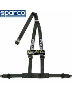 Harnais routier 3 points de fixation par vis SPARCO ROAD Noir