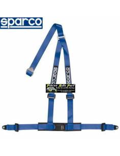 Harnais routier 3 points de fixation par vis SPARCO ROAD Bleu