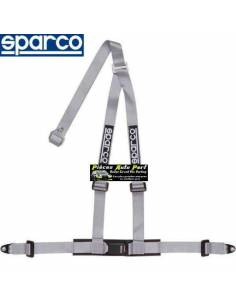 Harnais routier 3 points de fixation par vis SPARCO ROAD Gris