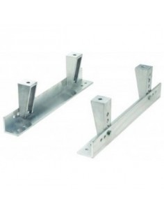 Fixations de siège Inférieures Aluminium réglables OMP