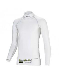 T-shirt FIA manches longues SPARCO RW-9 Nomex Blanc