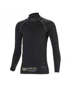 T-shirt FIA manches longues SPARCO RW-9 Nomex Noir