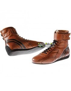 Bottines VHC FIA OMP Carrera Caramel