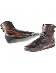 Bottines VHC FIA OMP Carrera Chocolat