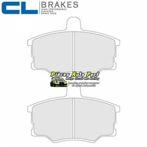 Plaquettes de freins Avant CL Brakes pour LANCIA Delta 2l0 Turbo HF