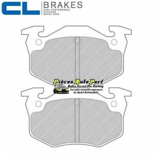 plaquettes de freins arri re cl brakes pour renault clio 2 rs. Black Bedroom Furniture Sets. Home Design Ideas