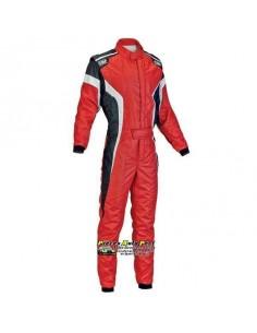 Combinaison FIA OMP Tecnica S Rouge/Noir